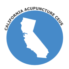 California Acupuncture CEUs