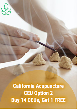 California Acupuncture CEU Option 2 - Acupuncture Continuing Education