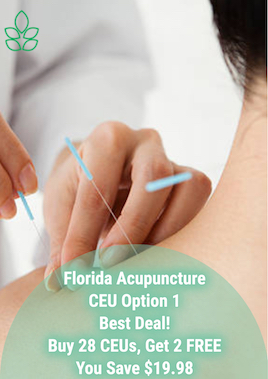 Florida Acupuncture CEU Option 1 - Acupuncture Continuing Education